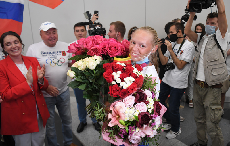 Российская спортсменка, член сборной России по гребному спорту Василиса Степанова