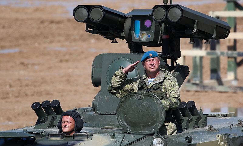 Военно-патриотический праздник, посвященный дню ВДВ