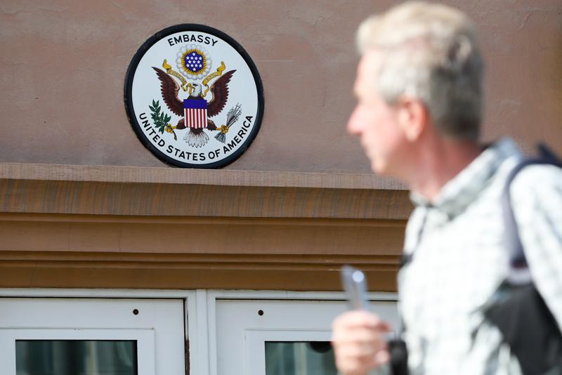 Посольство США в России
