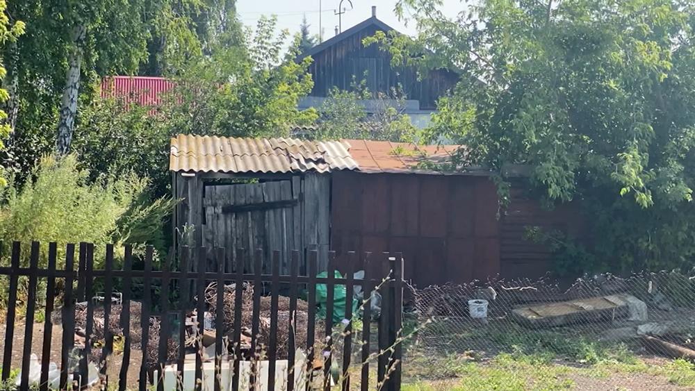 Место похищения девочки в Бийске