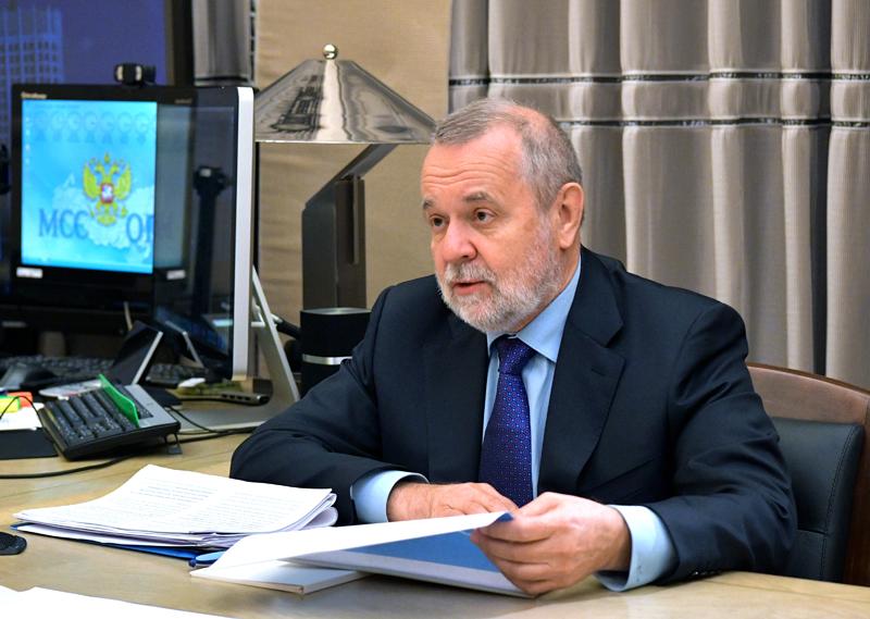 Председатель правления Пенсионного фонда России Андрей Кигим