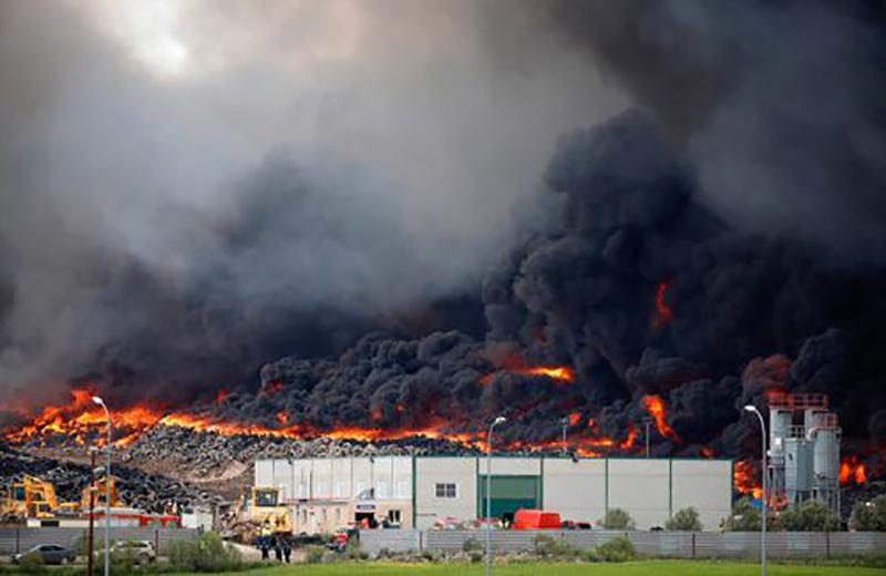 Пожар в Кувейте