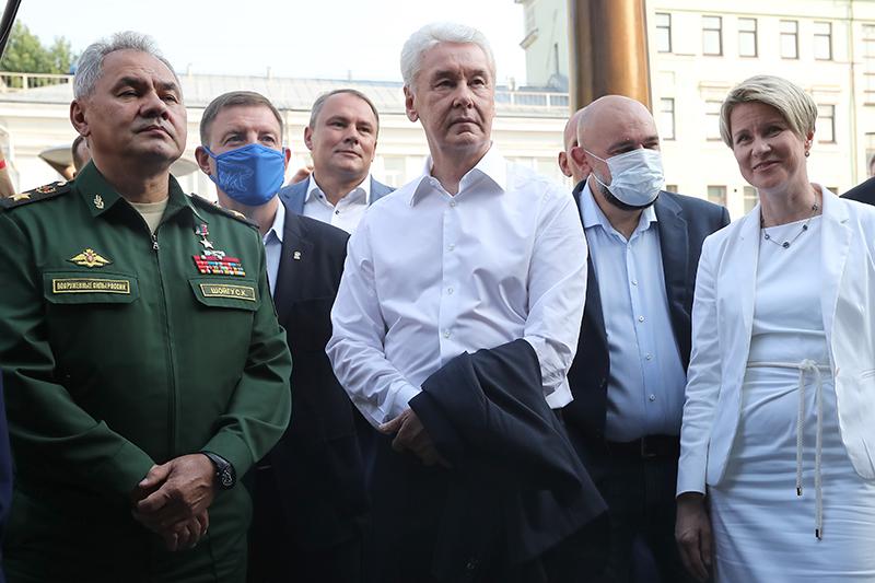 Сергей Шойгу, Сергей Лавров и Сергей Собянин