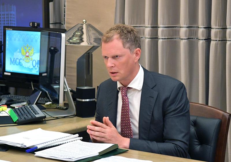 Руководитель Федеральной налоговой службы (ФНС) Даниил Егоров