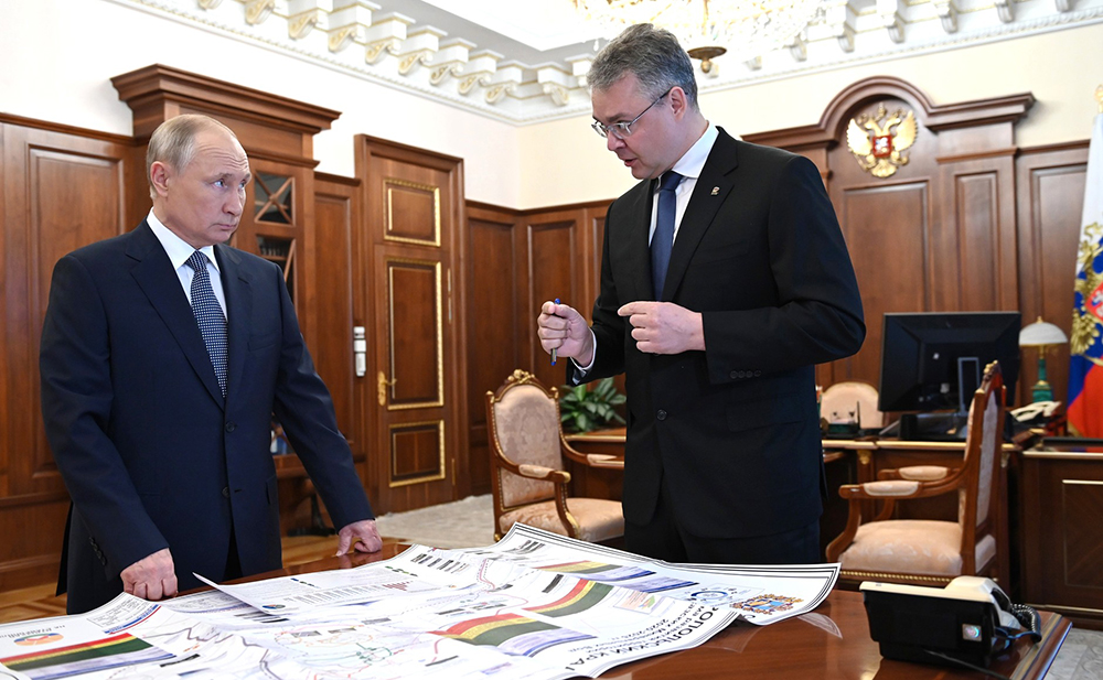 Владимир Путин и Владимир Владимиров