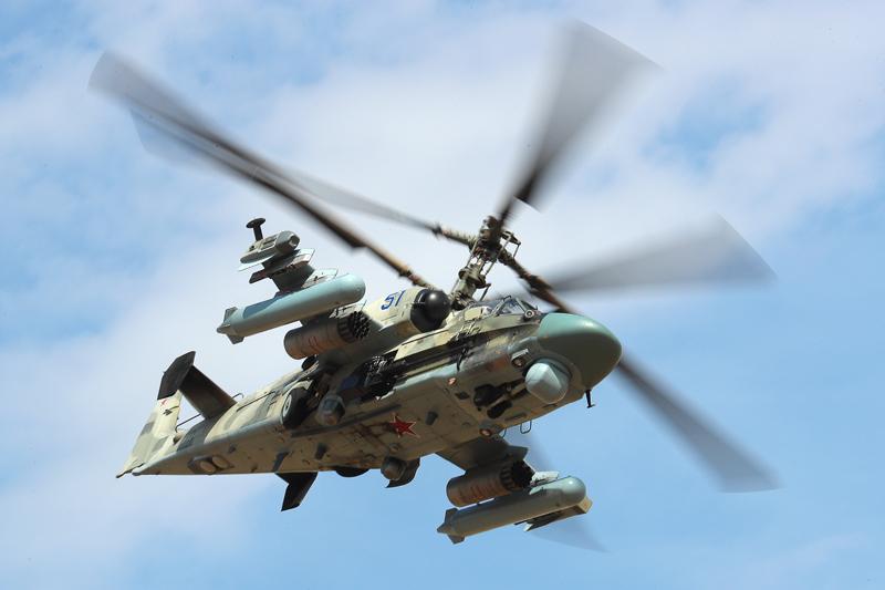 """Разведывательно-ударный вертолет Ка-52 """"Аллигатор"""""""
