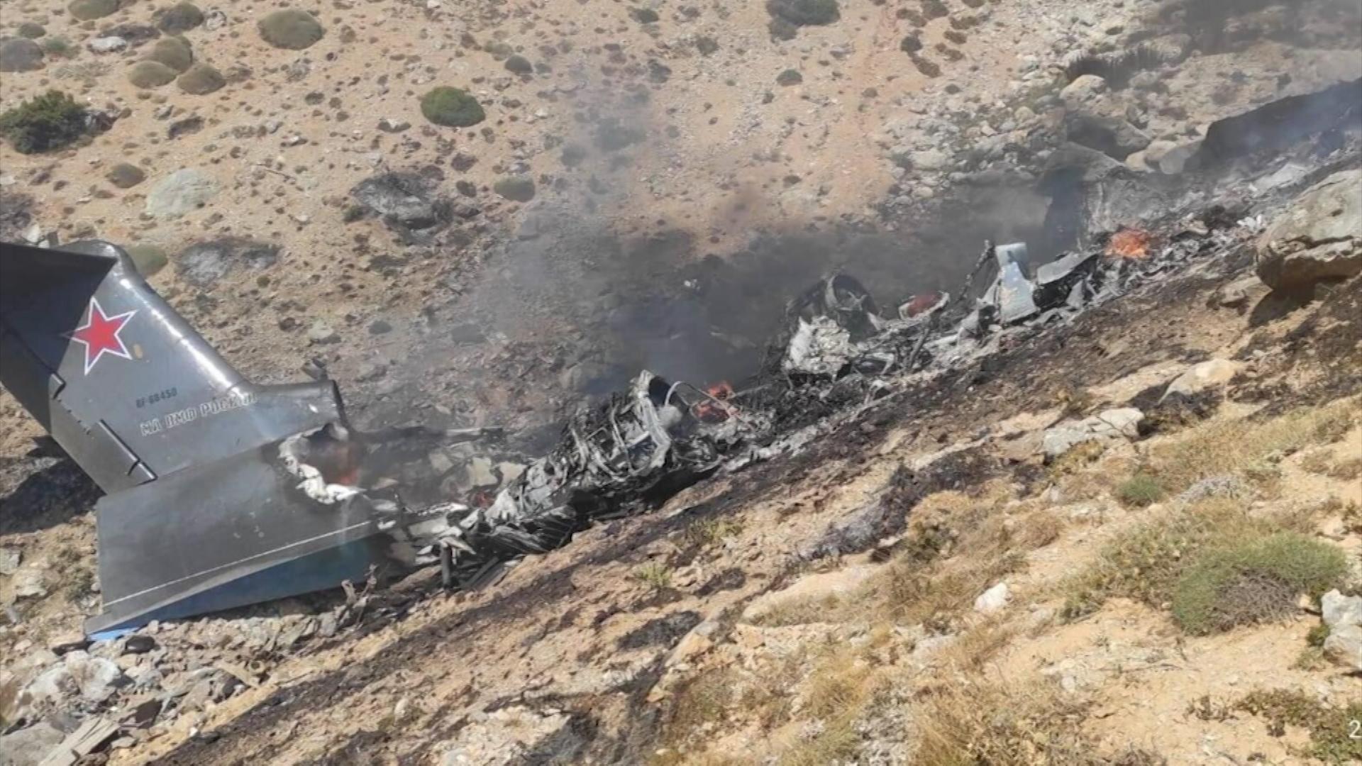 Крушение Бе-200 в Турции