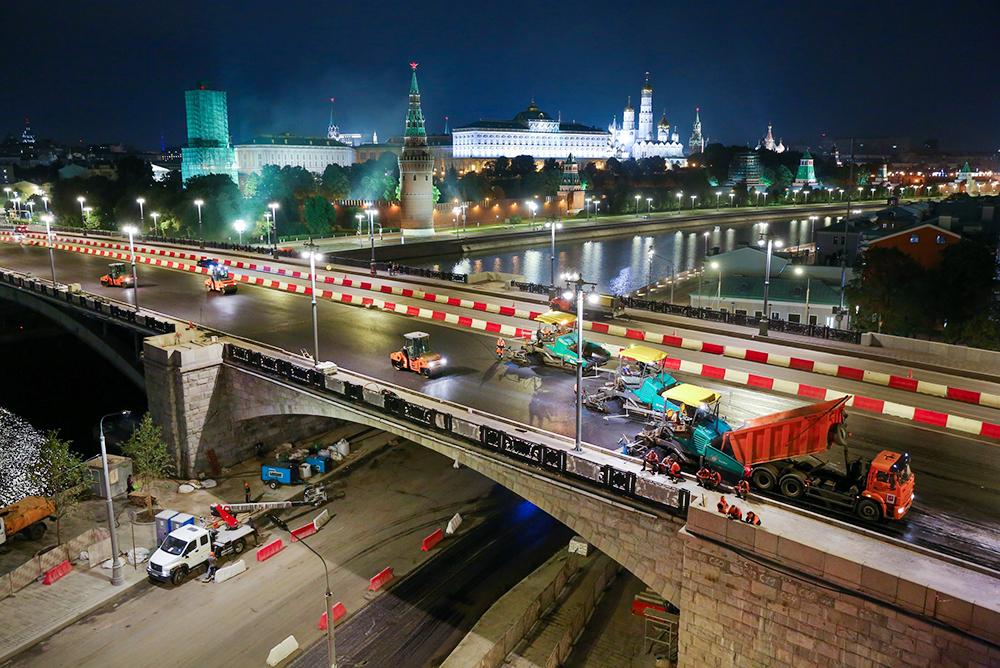 Капремонт Большого Каменного моста