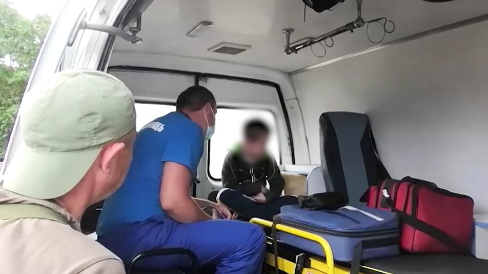 Потерявшийся мальчик в Иркутской области