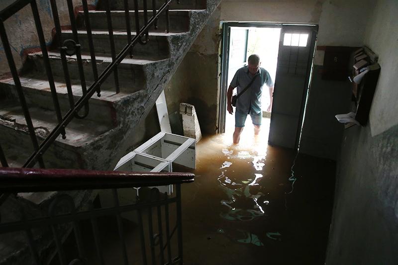 Последствия наводнения в Керчи