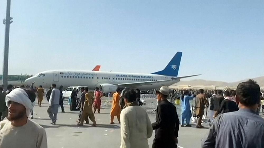 Международный аэропорт имени Хамида Карзая в Кабуле