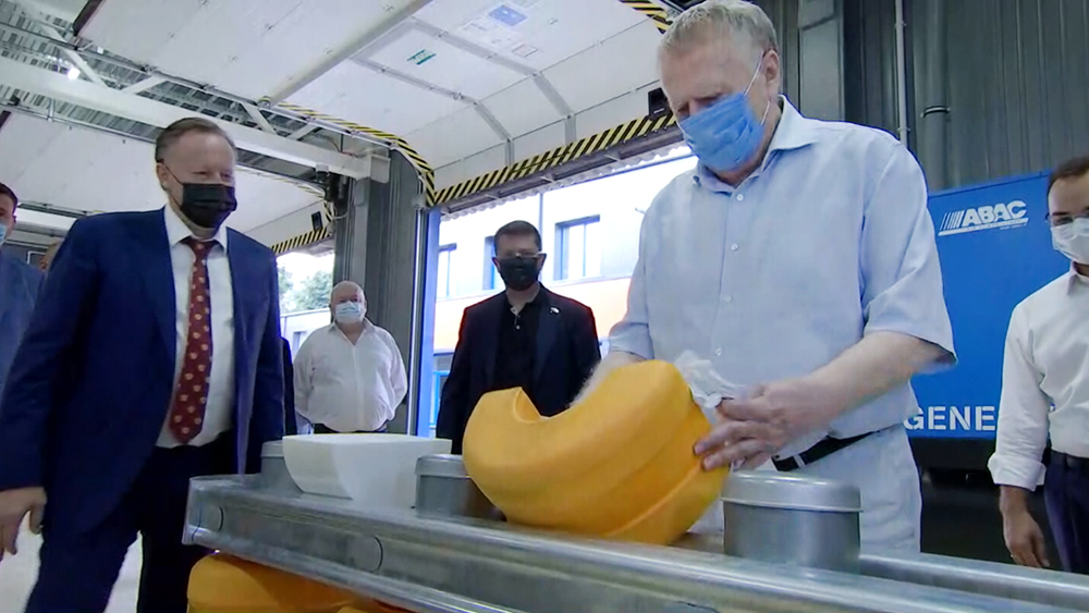 Владимир Жириновский посетил предприятие