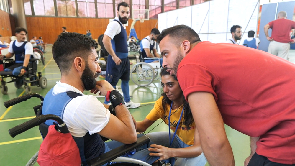 Спортивный праздник для военных в Сирии