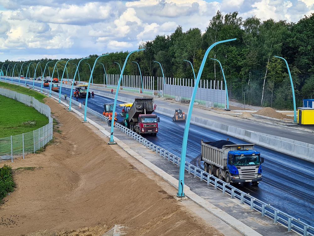 Открытие движения по Богородскому путепроводу в Москве