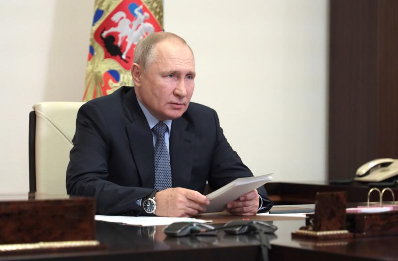 Владимир Путин проводит заседание президиума Государственного Совета