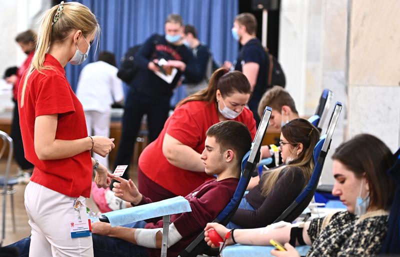 Сдача донорской крови в Москве