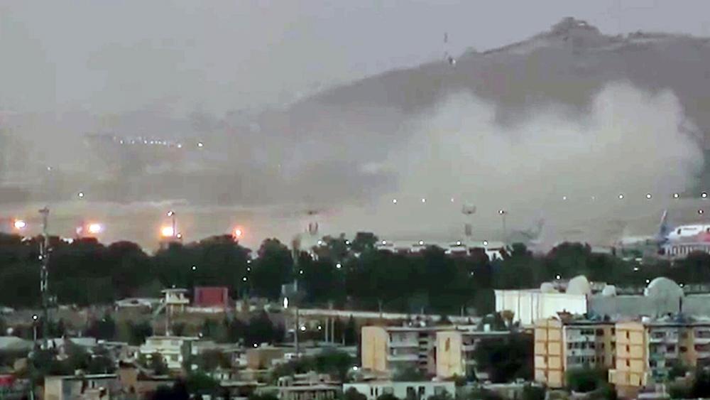 Теракт в аэропорту Кабула