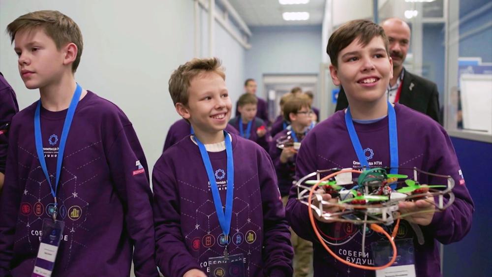 Участники технологической олимпиады Junior