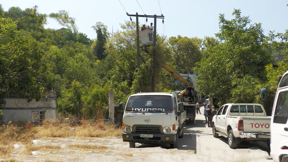 Ремонт электроснабжения в Сирии