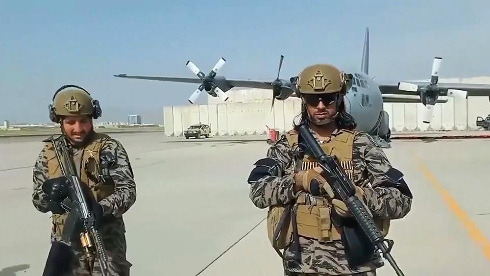 Брошенная военная техника армии США