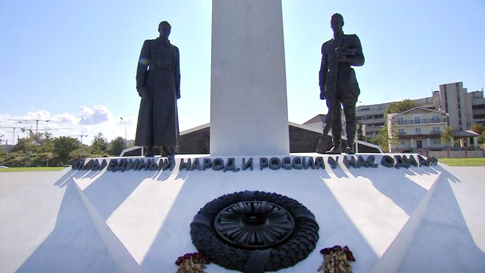 """Мемориал жертвам """"Гражданской войны""""в Севастополе"""