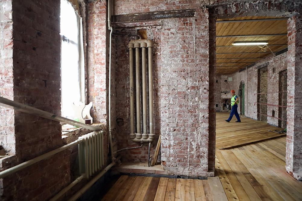 Реставрация исторического здания