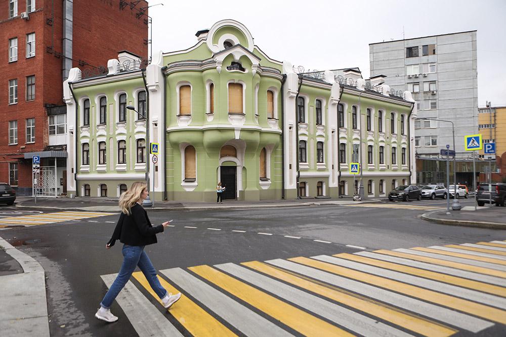 Реставрация дома Абрикосовых