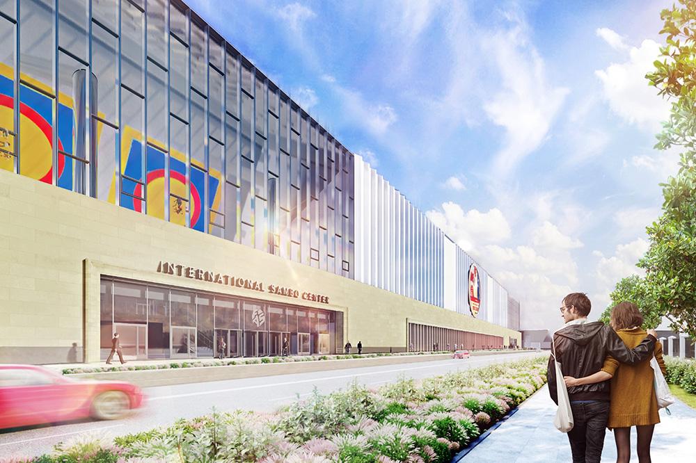 Проект Центра единоборств в Лужниках