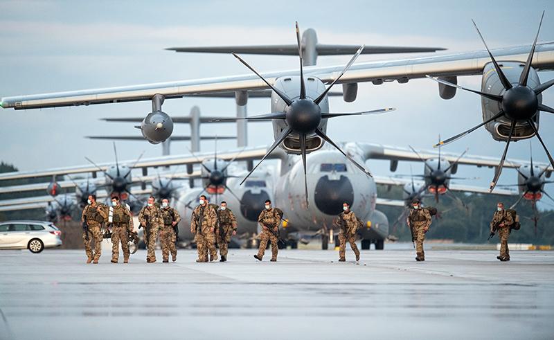 Возвращение военнослужащих Германии из Афганистана