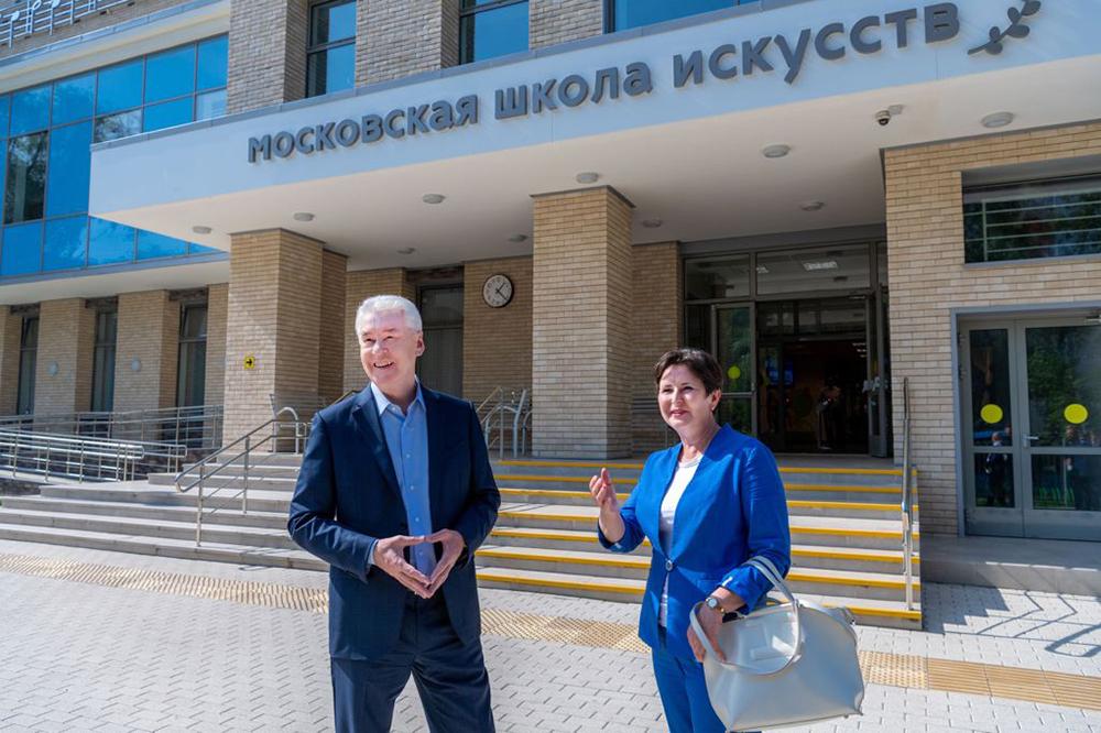 Сергей Собянин и Светлана Разворотнева