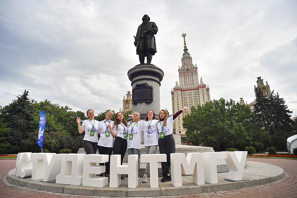 День первокурсника в МГУ