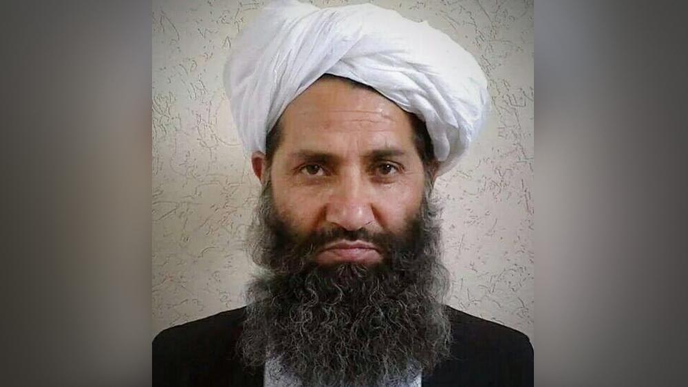 "Лидер движения ""Талибан"" (запрещено в РФ) Хайбатулла Ахундзада"