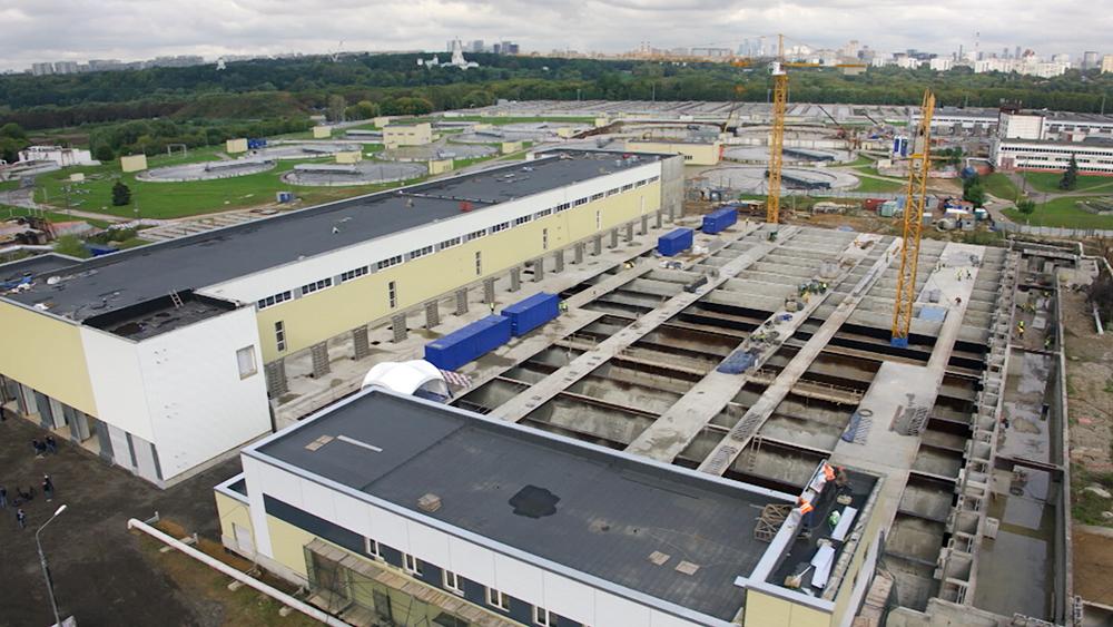 Модернизация Курьяновских очистных сооружений