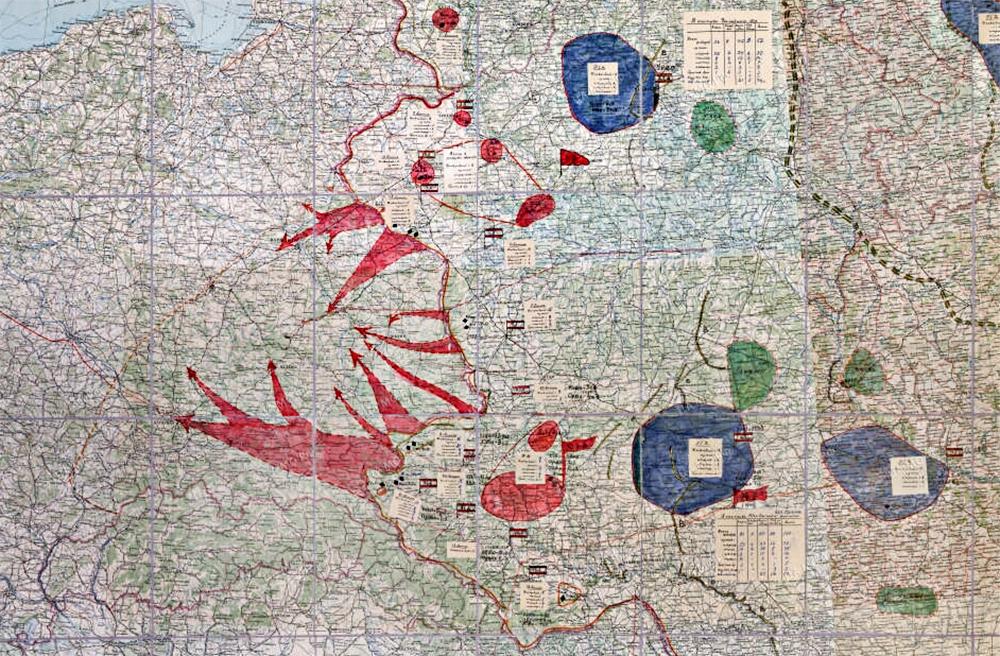 Схема стратегического развертывания вооруженных сил СССР на случай войны с Германией