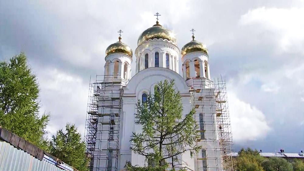 Строительство нового храма