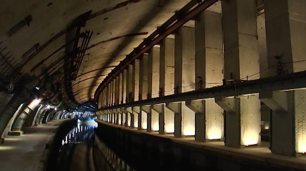 Док для подводных лодок в Балаклавской бухте