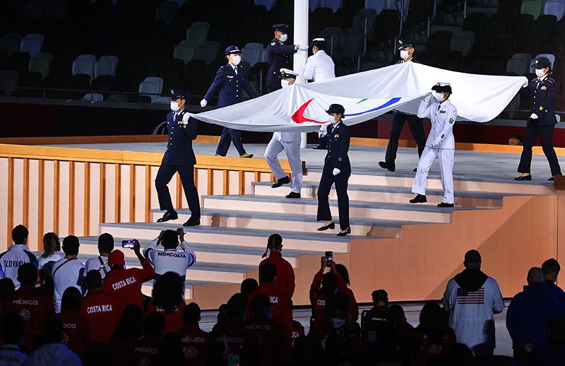 Церемония закрытия Паралимпийских игр в Токио