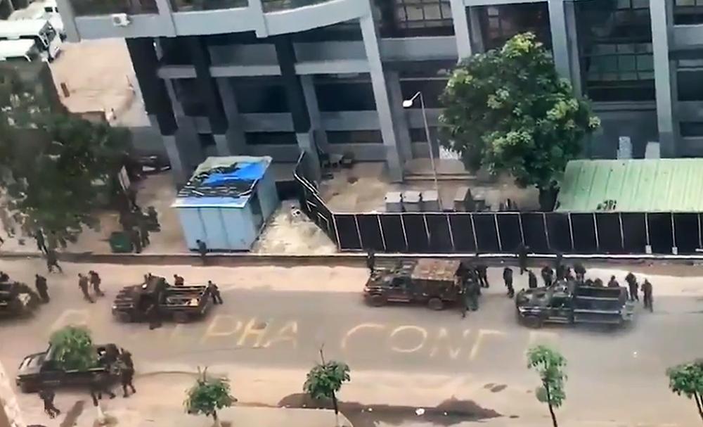Попытка госпереворота в Гвинее