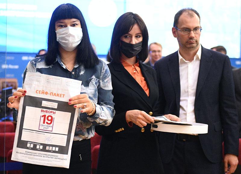 Демонстрация подготовки к дистанционному электронному голосованию (ДЭГ)