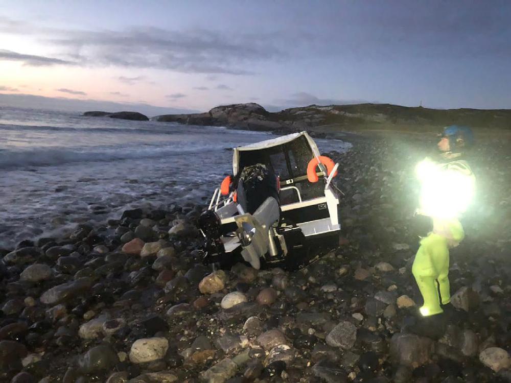 Спасательная операция в Баренцевом море