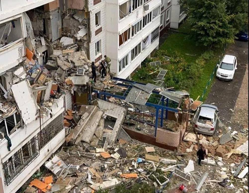 Взрыв в Ногинске