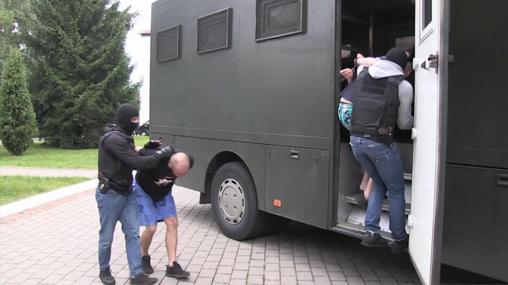 Задержание россиян в Белоруссии