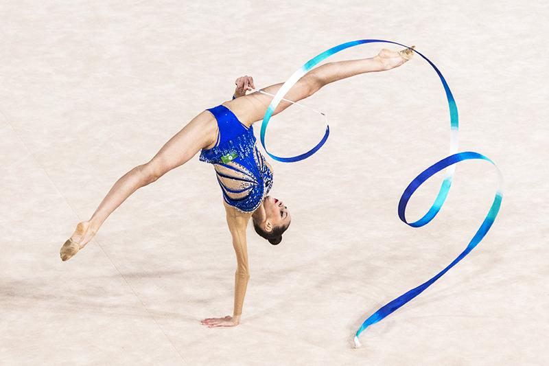 Российская гимнастка