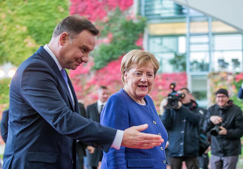 Ангела Меркель и Анджей Дуда