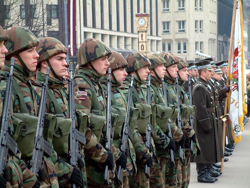 Латвийская армия