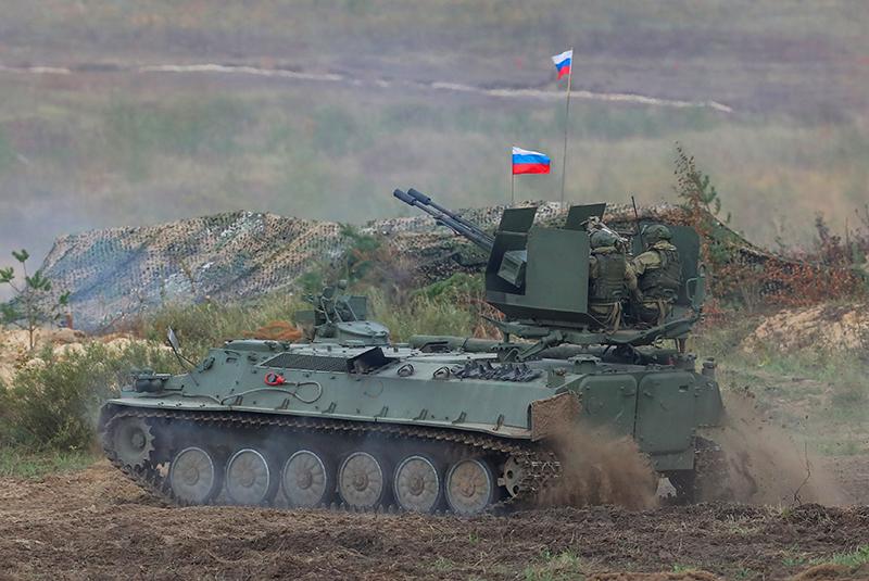 """Российско-белорусские стратегические учения """"Запад-2021"""""""