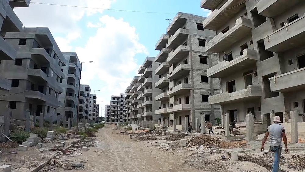 Новые дома в Сирии