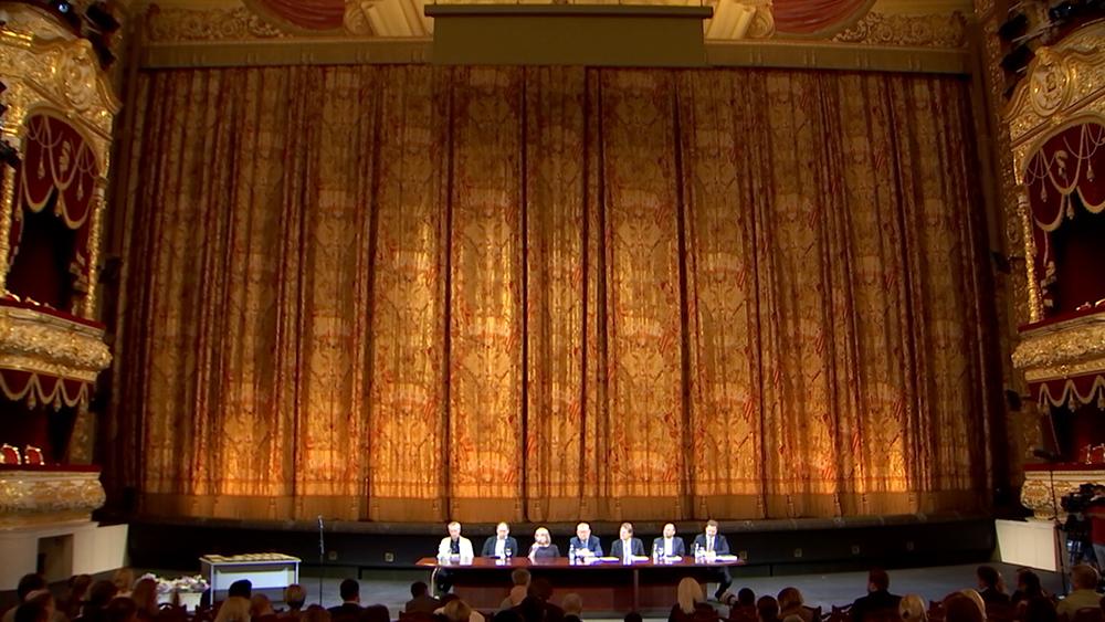 Сбор в Большом театре