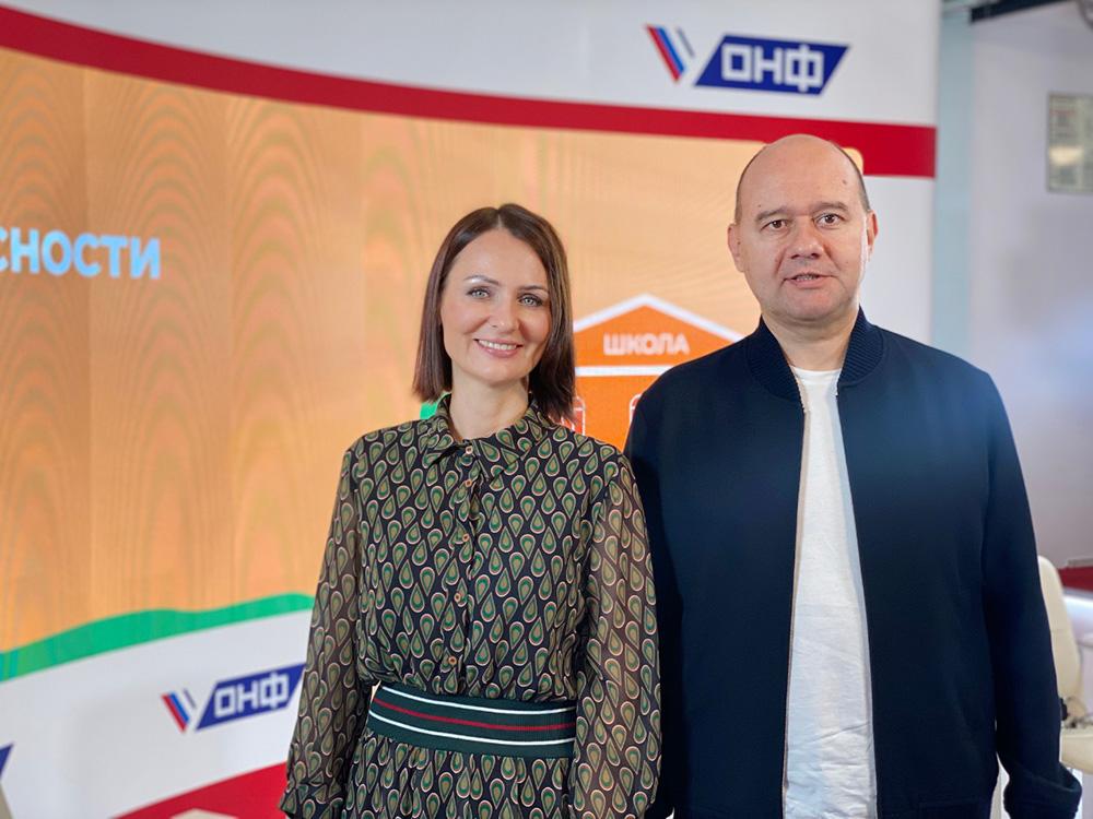 Татьяна Буцкая и Олег Леонов