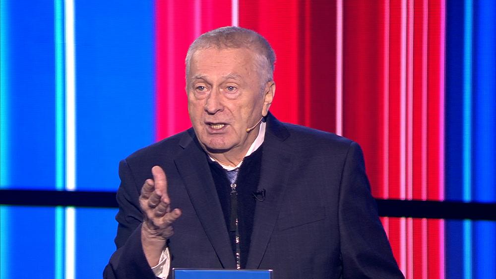 Владимир Жириновский на теледебатах